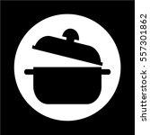 saucepan icon | Shutterstock .eps vector #557301862