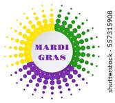mardi gras halftone background. ... | Shutterstock .eps vector #557315908