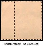 vintage posted stamp reverse ... | Shutterstock . vector #557326825