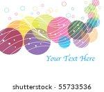 disk drama | Shutterstock .eps vector #55733536