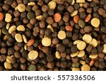 dried pet food for dog or cat... | Shutterstock . vector #557336506