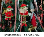 closeup fabric decorative items ...   Shutterstock . vector #557353702