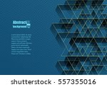 abstract background with... | Shutterstock .eps vector #557355016