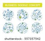 doodle vector illustrations of... | Shutterstock .eps vector #557357542