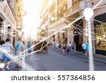 deep learning   neural networks ... | Shutterstock . vector #557364856