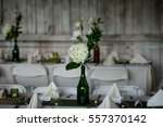 wedding reception | Shutterstock . vector #557370142