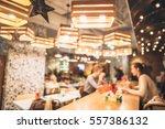 restaurant in bokeh  defocused...   Shutterstock . vector #557386132