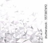 gray white polygonal background ... | Shutterstock .eps vector #557387692