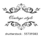 vintage header | Shutterstock .eps vector #55739383