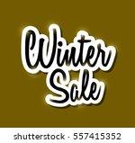 winter sale   Shutterstock .eps vector #557415352