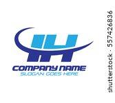 ih logo | Shutterstock .eps vector #557426836