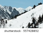 Snowy Mountain In Donezan  Pyr...
