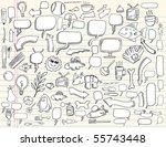 notebook doodle speech bubble...