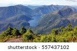 view from mount marathon trail  ... | Shutterstock . vector #557437102