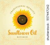 vector banner for refined... | Shutterstock .eps vector #557447242