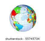 globe | Shutterstock . vector #55745734
