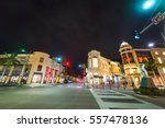 Rodeo Drive By Night  California
