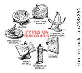 vector hand drawn set of... | Shutterstock .eps vector #557483395