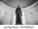 Statue Of Thomas Jefferson...