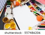 art drawing painting dye color... | Shutterstock . vector #557486206
