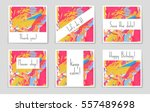 abstract vector layout... | Shutterstock .eps vector #557489698