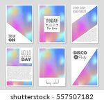 abstract vector layout... | Shutterstock .eps vector #557507182