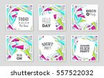abstract vector layout... | Shutterstock .eps vector #557522032