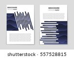 abstract vector layout... | Shutterstock .eps vector #557528815