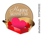 emblem. congratulations to the... | Shutterstock .eps vector #557543332