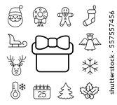 christmas xmas new year winter... | Shutterstock .eps vector #557557456