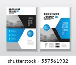 business brochure design.... | Shutterstock .eps vector #557561932