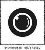 web camera    black vector icon | Shutterstock .eps vector #557573482