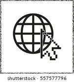 internet    black vector icon