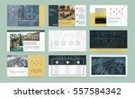 original gold presentation... | Shutterstock .eps vector #557584342