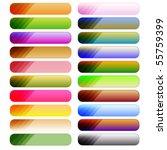 colorful vector button... | Shutterstock .eps vector #55759399