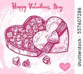 vector hand drawn illustration...   Shutterstock .eps vector #557607286