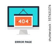 vector illustration of error...