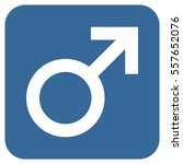 male symbol vector icon. image... | Shutterstock .eps vector #557652076