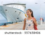 Cruise Ship Passenger Leaving...