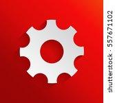 gear wheel   settings icon   Shutterstock .eps vector #557671102