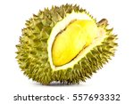 King Of Fruits  Durian Isolate...
