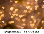heart bokeh background  love... | Shutterstock . vector #557705155