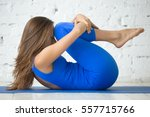 young attractive woman... | Shutterstock . vector #557715766