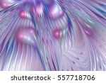 Abstract Rippled Glossy Textur...