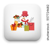 flat vector icon   illustration ... | Shutterstock .eps vector #557724682