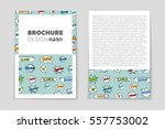 abstract vector layout... | Shutterstock .eps vector #557753002