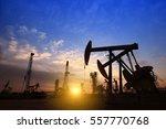 the oil pump  industrial... | Shutterstock . vector #557770768