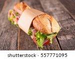 sandwich | Shutterstock . vector #557771095