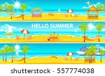 set stock vector illustration... | Shutterstock .eps vector #557774038