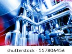 equipment  cables and piping as ... | Shutterstock . vector #557806456